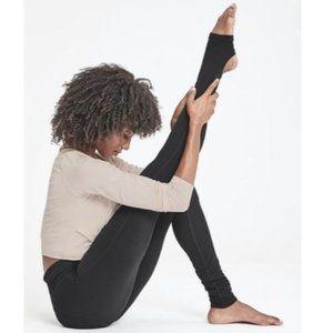Athleta Barre Stirrup Tight in Black